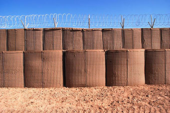 Hesco Barrier - Camp Shorabak, Afghanistan