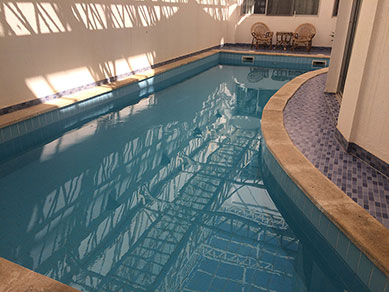 Swimming Pool - Swedish Embassy, Baghdad