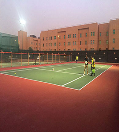 Tennis Court - US Embassy, Baghdad